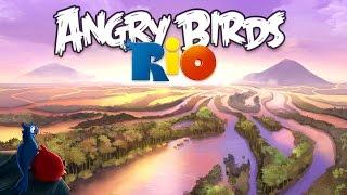 Angry Birds: Rio. Airfield Chase (bonus 1-5) 3 stars. Прохождение от SAFa