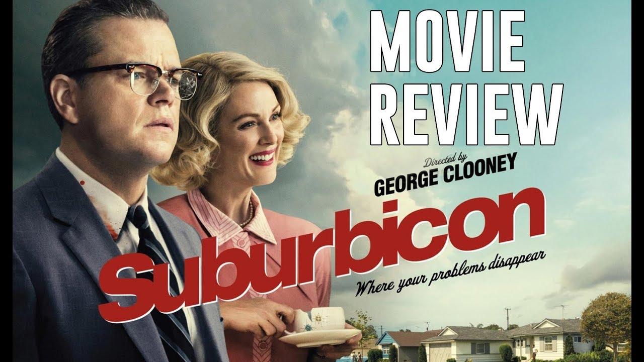 Suburbicon Movie Review   Matt Damon   George Clooney - TIFF17 - YouTube