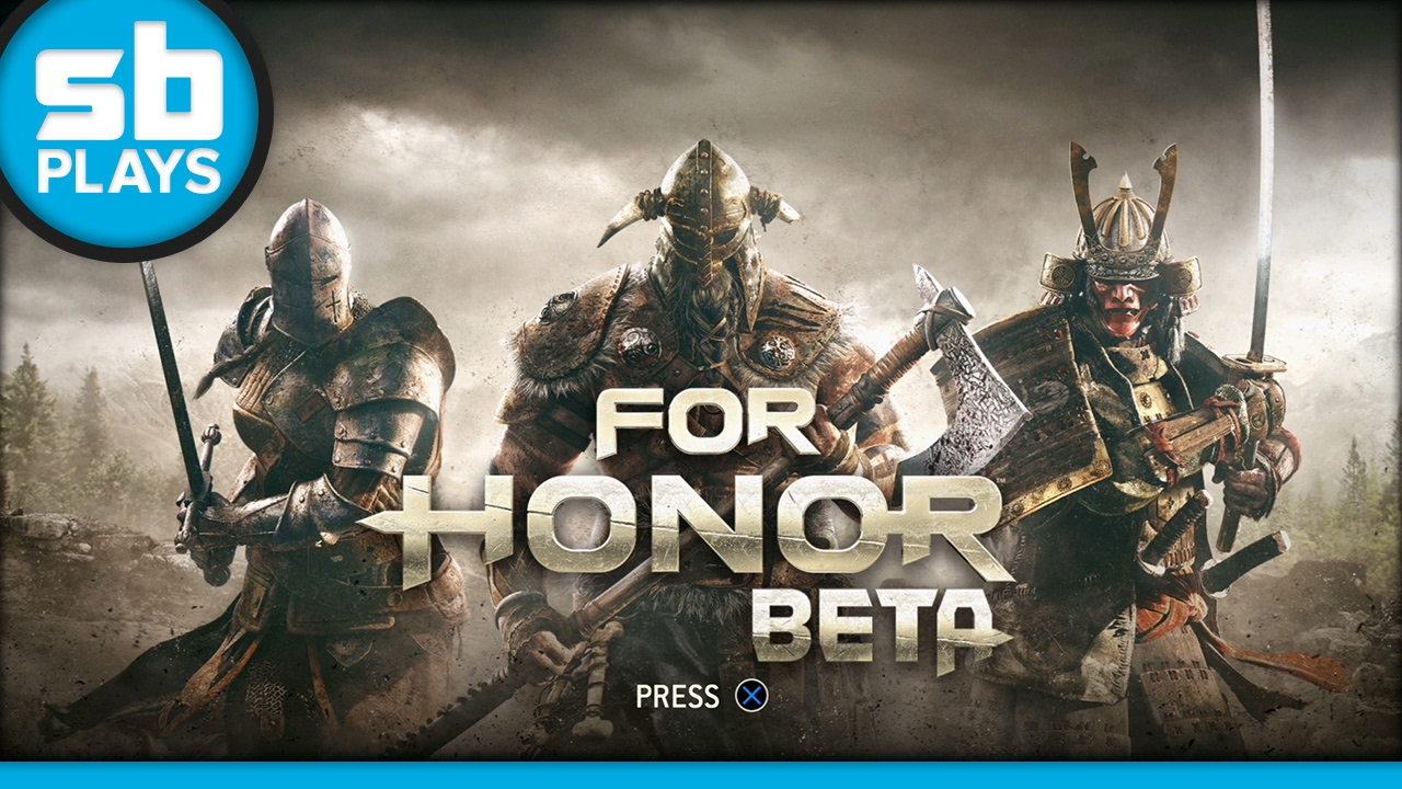 First Play: For Honor (Open Beta)
