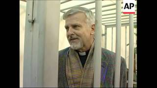 US pastor arrested for bringing rifle rounds into Russia stands trial