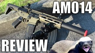 """Video Airsoft Review of The Ares Amoeba AM014  """"It's called a Honey Badger Scott!"""" - Airsoft Station download MP3, 3GP, MP4, WEBM, AVI, FLV Agustus 2018"""