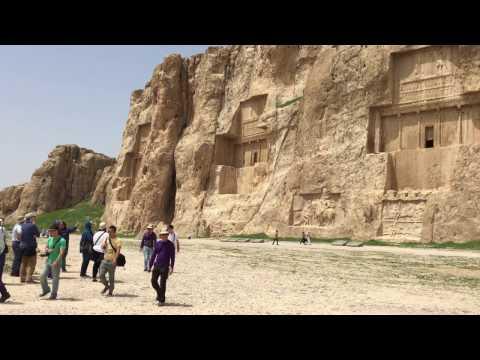 IRAN, Persepolis, Naqsh-e Rustam - April 2017