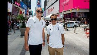 Juventus Invaders | Trezeguet & Davids discover New York