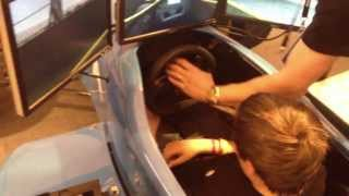 World Skills Show - Formula 3 Simulator! [Record]