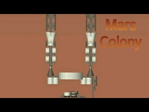 Mars colony | Spaceflight Simulator | Part 1 |
