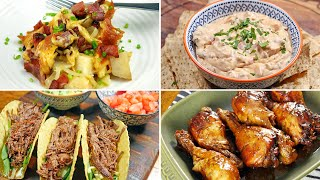 4 Tasty Slow Cooker Recipes for Game Day