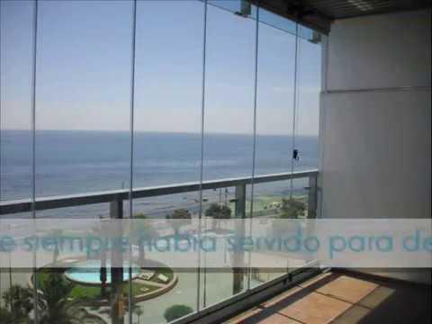 Cristales para terrazas y balcones vidris youtube - Cristaleras para terrazas ...