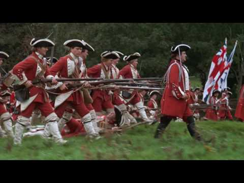 Barry Lyndon (1975) - Seven Years War Infantry Combat