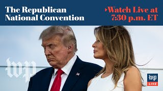 Second night of the Republican National Convention - 8/25 (FULL LIVE STREAM)