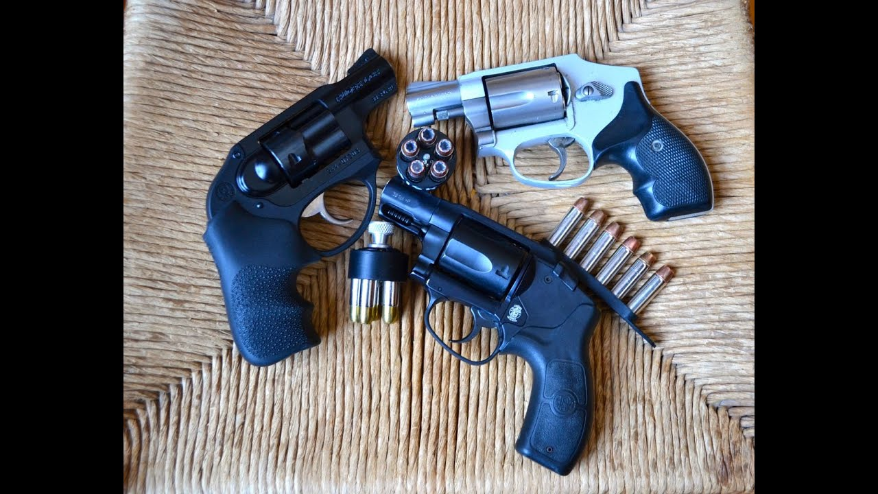Snubnosed Revolvers In 38 Special S Amp W Vs Ruger Lcr
