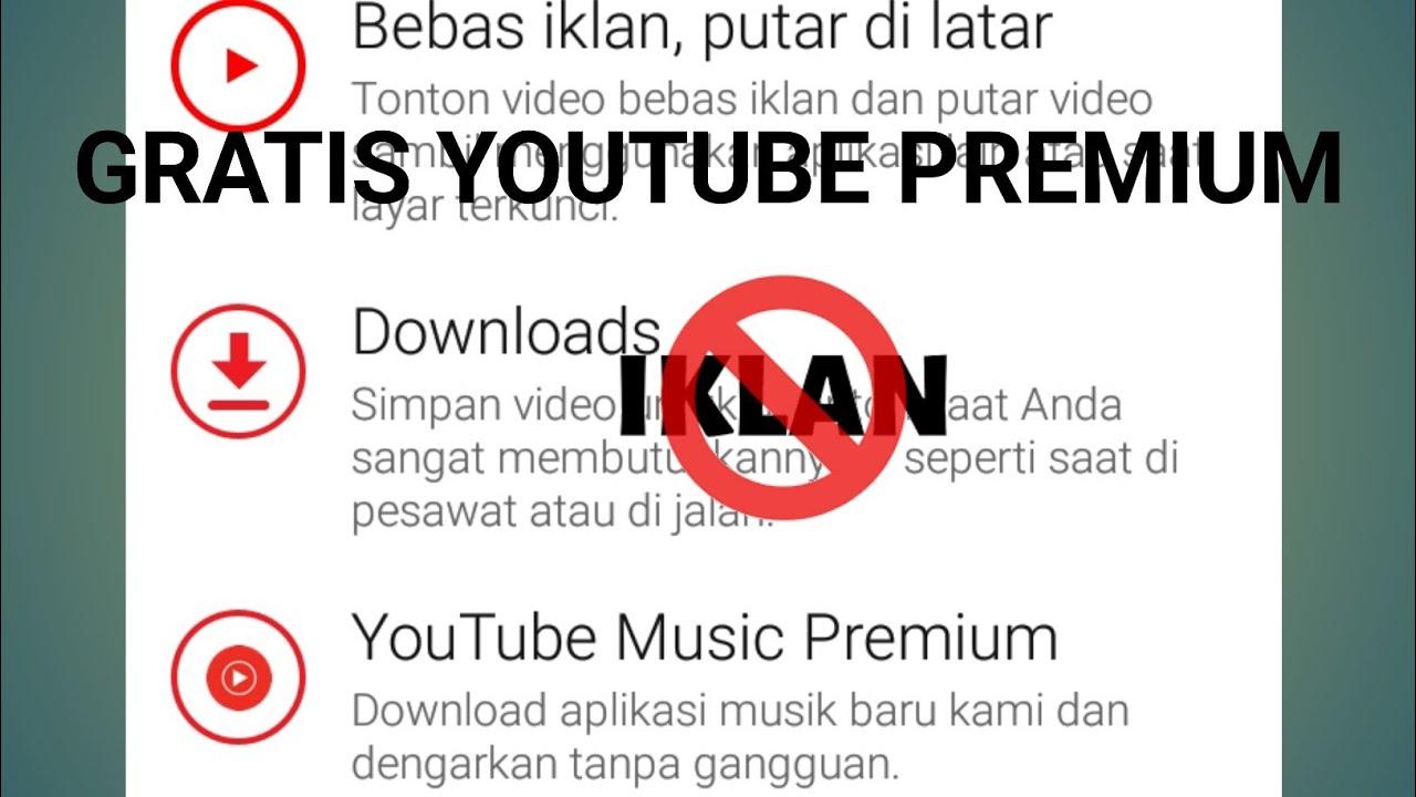 Cara Membuat Youtube Premium Youtube
