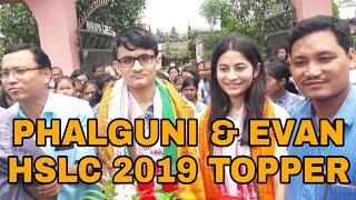 HSLC RESULT || Phalguni Sarma, 5th Rank  || Evan Kashyap Kalita, || HSLC 2019 TOP 10 || St. John's B