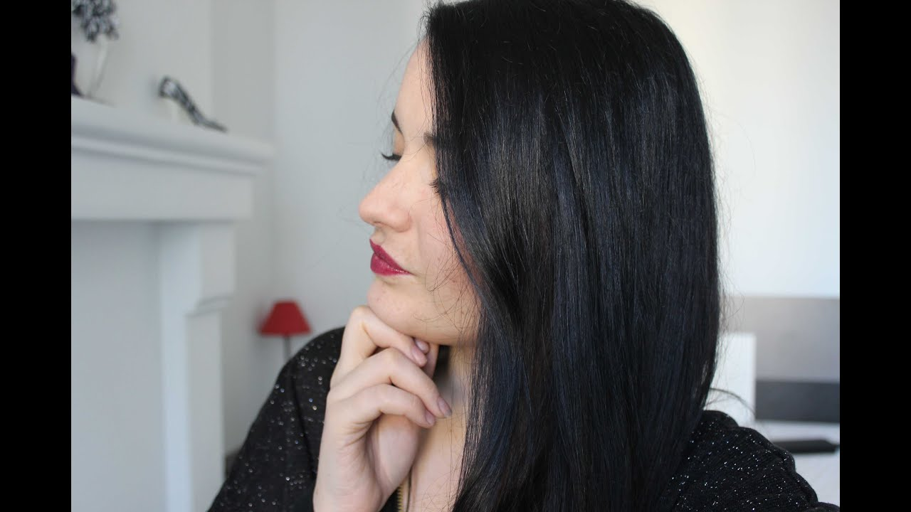 je teste coloration couleur ultime de schwarzkopf back to black - Mousse Colorante Schwarzkopf