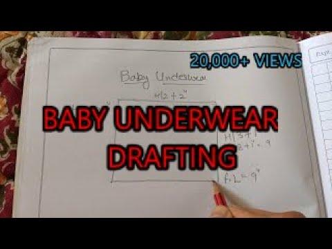 Baby Underwear Drafting