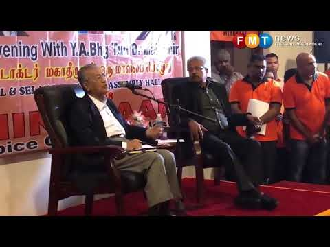 Dr M blames MIC's former leader for failing Indian community