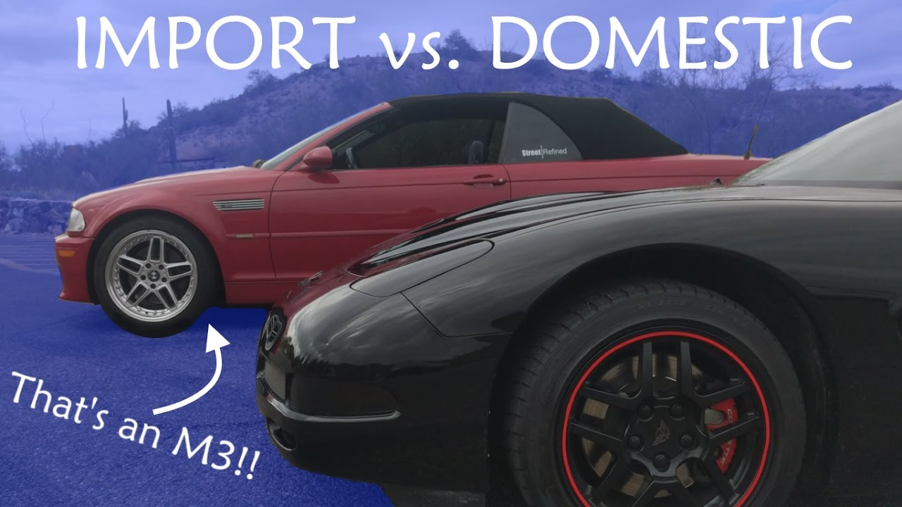 import cars vs. domestic cars essay Why imports are better than muscle cars street racing car forums import vs domestic wars are getting old, and very lame.