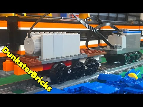 MOC LEGO Train Engine Project Prototype!