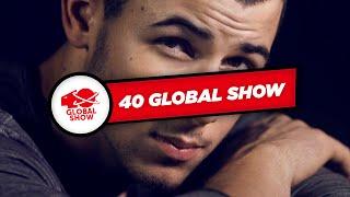 Nick Jonas habla sobre Demi Lovato (40 Global Show)