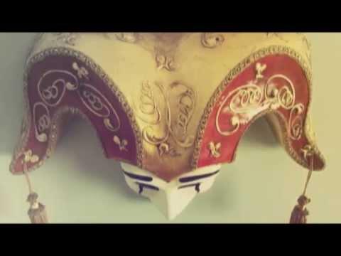 Download Venetian mask Jester Bell