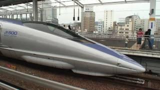 500系新幹線のぞみ 岡山ダッシュ! W1, W7~W9編成 NOZOMI 500