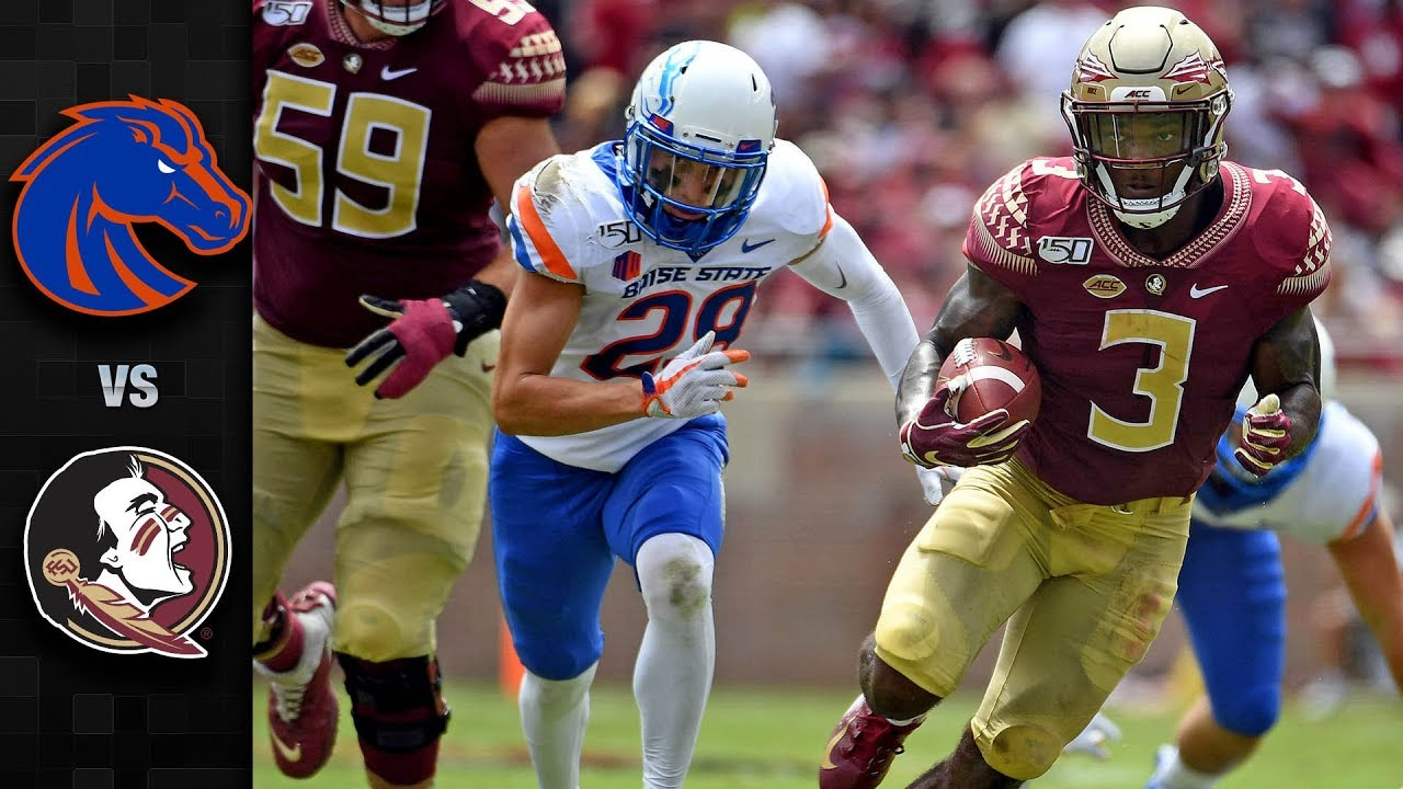 Boise State Vs Florida State Football Highlights 2019 Youtube