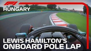 2020 Hungarian Grand Prix: Lewis Hamilton's Pole Lap | Pirelli