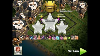 HOW TO 3 STAR ANY TH11|RING BASE|CLASH OF CLANS