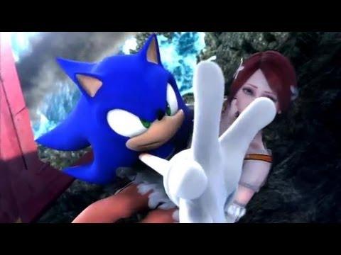 ソニック2006オールCGIカットシーン Sonic 2006 all CGI cutscenes japanese