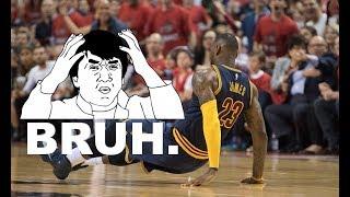 """NBA """"Bruh WTF?"""" Moments!"""