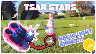 tsar stars 스케 쳐 신발 키즈 비디오 학습 재…