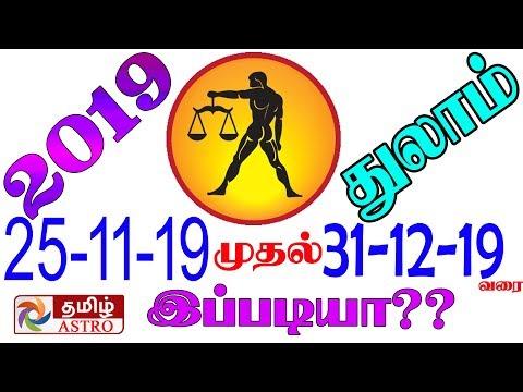 September to December துலாம் ராசி   Thulam Rasi Palangal 2019   Libra   Thulam rasi palan   how to