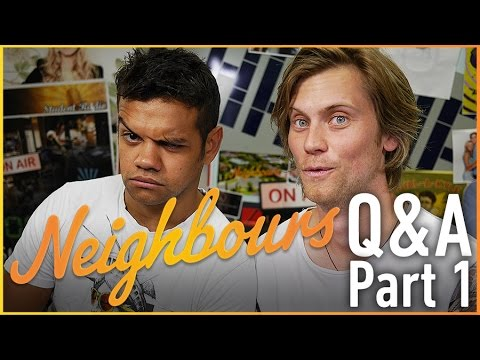 Meyne Wyatt Nate & Tim Phillipps Daniel Q&A Part 1  Neighbours