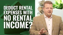 Rental Property Tax Deductions - Deducting Rental Expenses When No Income