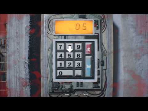 Resident Evil 7 Use Lucas Password to Open Secret Door