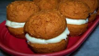Pumpkin Whoopie Pies - Gluten Free