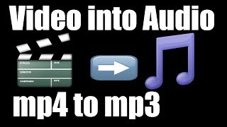 How to Convert Video into Audio on PC | Download Best free MP4 to MP3 converter in Urdu / Hindi Link https://bit.ly/2NrVVSh Keep Visting ...