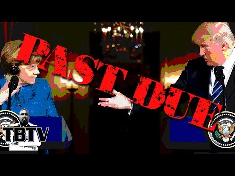Trump Presses Merkel on NATO Bills