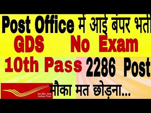 Andhra Pradesh GDS Recruitment 2018|| New GDS Recruitment || GDS 10th Pass vacancies||India Post GDS
