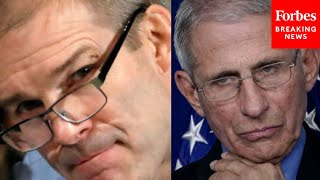 "Jim Jordan Clashes With Dr. Fauci In Fiery House Hearing: ""You're Making This A Personal Thing"""