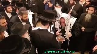 Viznitz Rebbe At A Bris In Zhitomir - Menachem Av 5779
