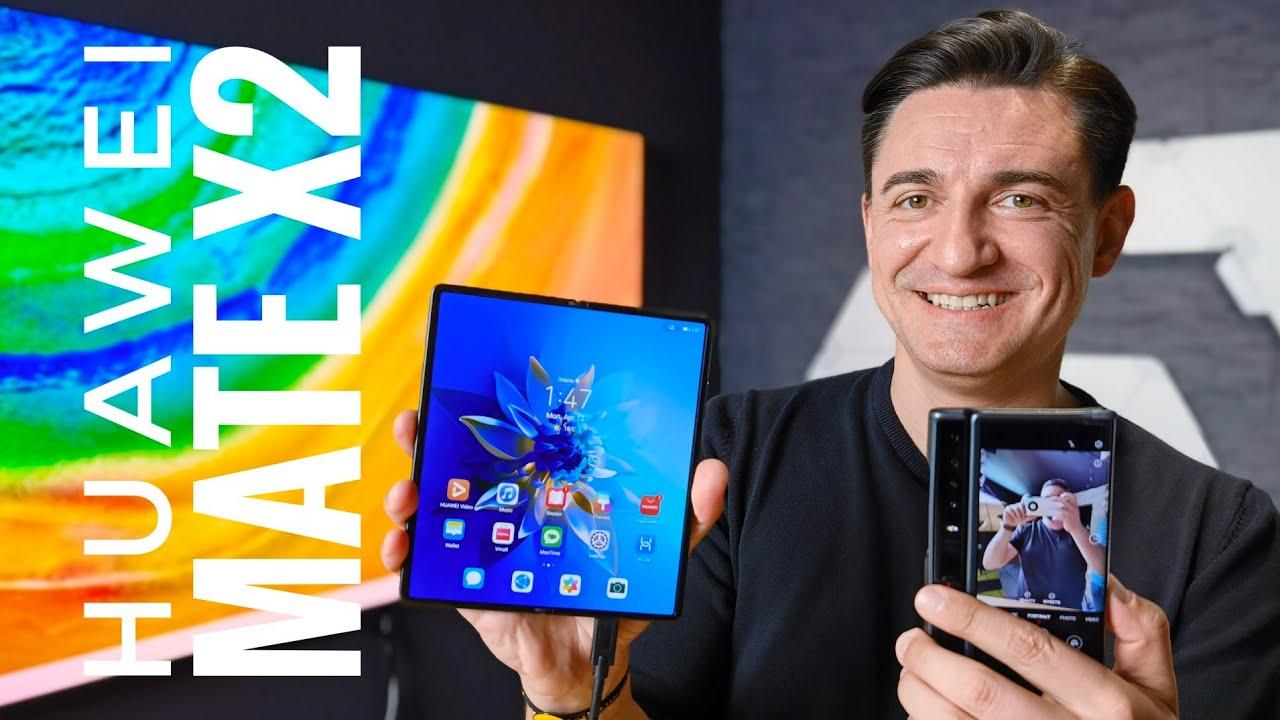 Telefonul pe care nu îl poți cumpăra - Huawei Mate X2