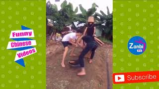 ✅ Funny Chinese videos   Whatsapp funny Videos 2018  Try Not To Laugh Challenge HARD 8