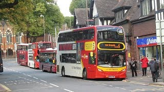 Buses at Sutton Coldfield September 2018
