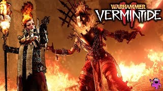 1 Hour of Legend Bright Wizard Gameplay - Warhammer Vermintide 2