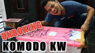 UNBOXING THE RP. 12.000.000 KOMODO REPLICA!! I FINALLY OWN IT!