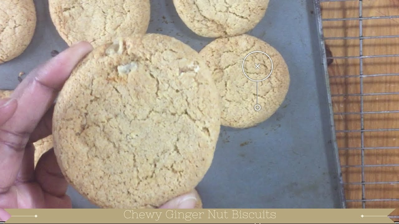 Soft Ginger Cookies Without Molasses Soft Gingerbread Cookies Youtube