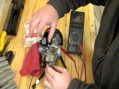 How to Repair Honda 400 AT Transmission Error