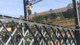 putos a saltar da ponte d. luis