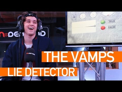 In:Demand Lie Detector - Brad from The Vamps