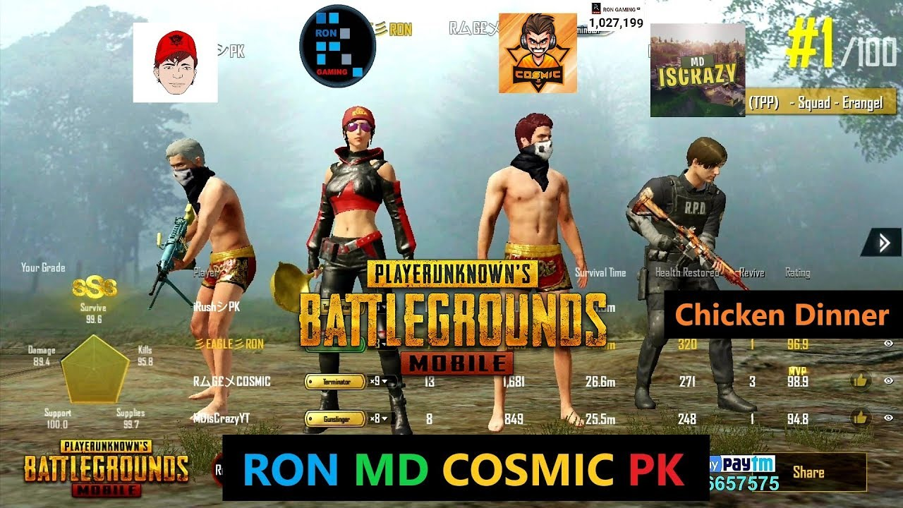 Check Out This Awesome Winner Winner Chicken Dinner: RON, MD, COSMIC & PK Amazing Squad